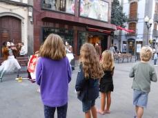Xmas street theatre