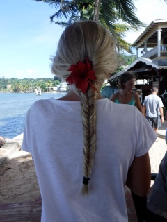 Learning to fish plait