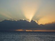 Guadaloupe sunset