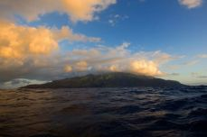 Fatu Hiva in morning splendour