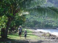 wandering along in Nuku Hiva