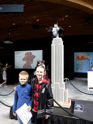 Amazing Lego exhibit